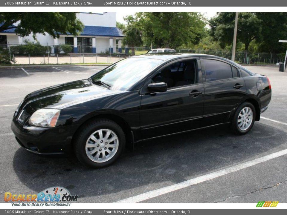 2006 Mitsubishi Galant ES Kalapana Black / Gray Photo #4 | DealerRevs.com