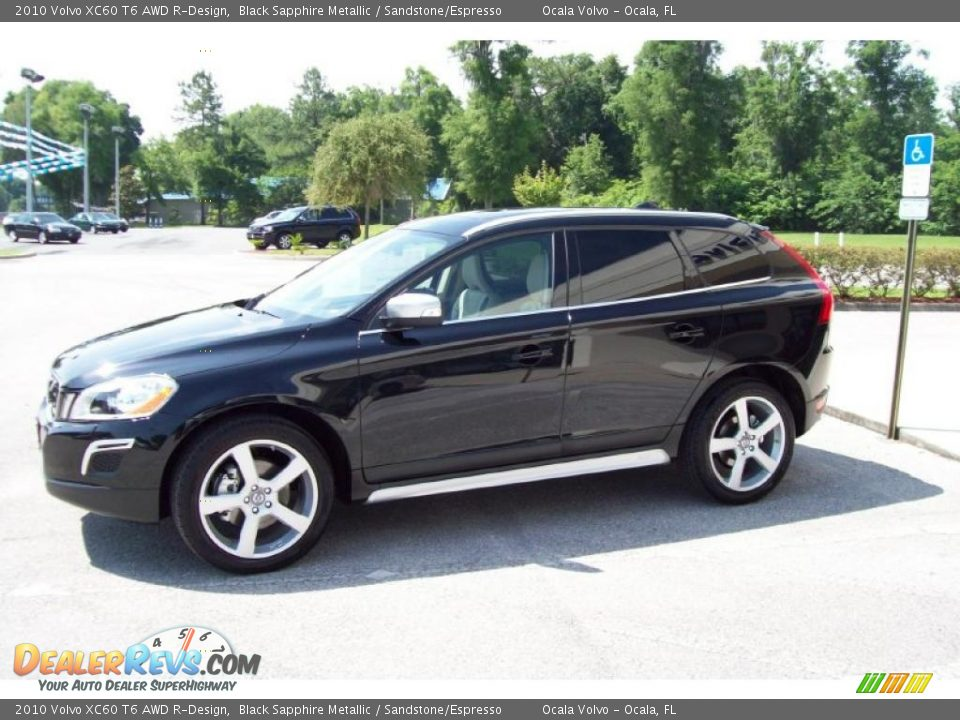 2010 volvo xc60 t6 awd r design black sapphire metallic. Black Bedroom Furniture Sets. Home Design Ideas