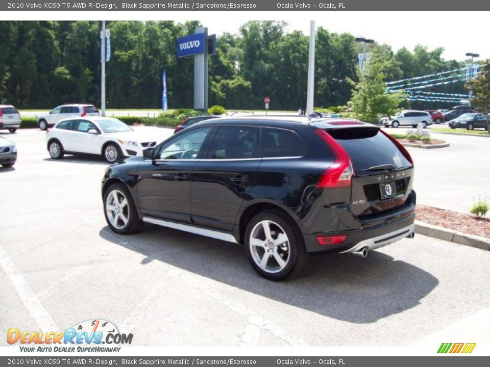 2010 volvo xc60 t6 awd r design black sapphire metallic sandstone espresso photo 5. Black Bedroom Furniture Sets. Home Design Ideas