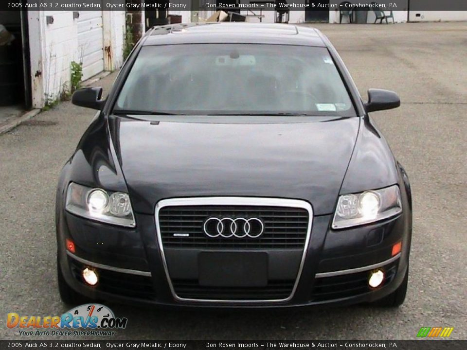 2005 Audi A6 3 2 Quattro Sedan Oyster Gray Metallic