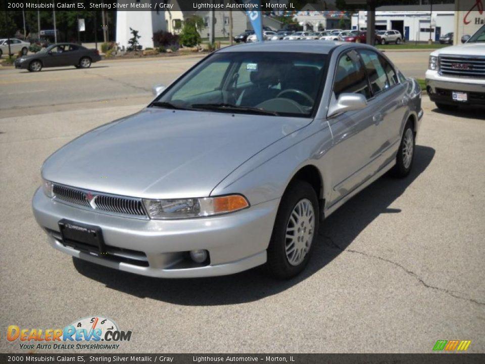 2000 Mitsubishi Galant Es Sterling Silver Metallic Gray