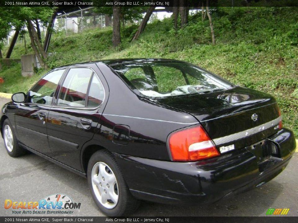 2001 Nissan Altima Gxe Super Black Charcoal Photo 3 Dealerrevs