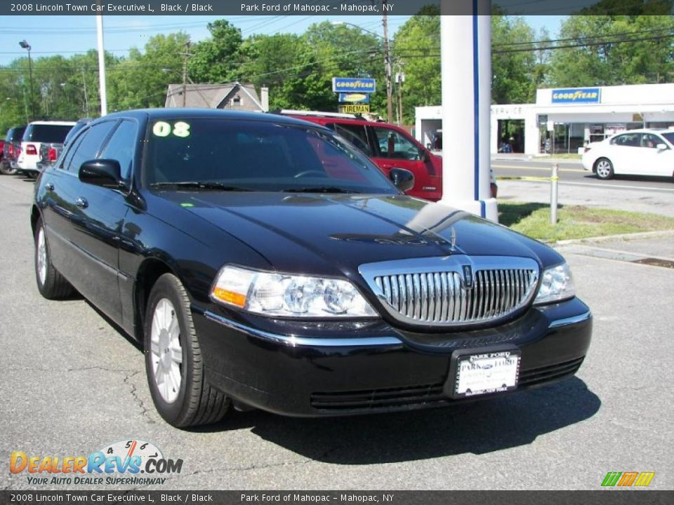 2008 lincoln town car executive l black black photo 2 for State motors lincoln dealer manchester nh
