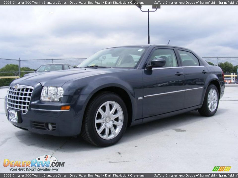 2008 Chrysler 300 Touring Signature Series Deep Water Blue
