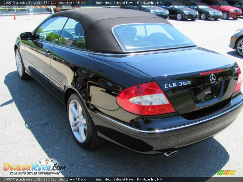 2007 mercedes benz clk 350 cabriolet black black photo for 2007 mercedes benz clk