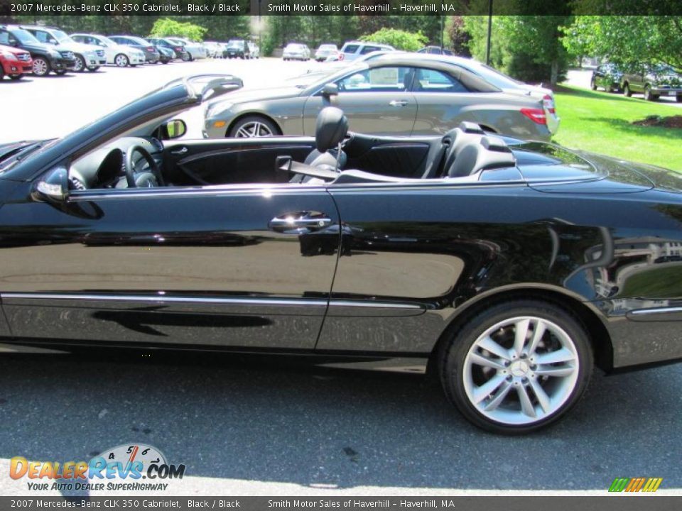 2007 mercedes benz clk 350 cabriolet black black photo for Mercedes benz 350 clk convertible
