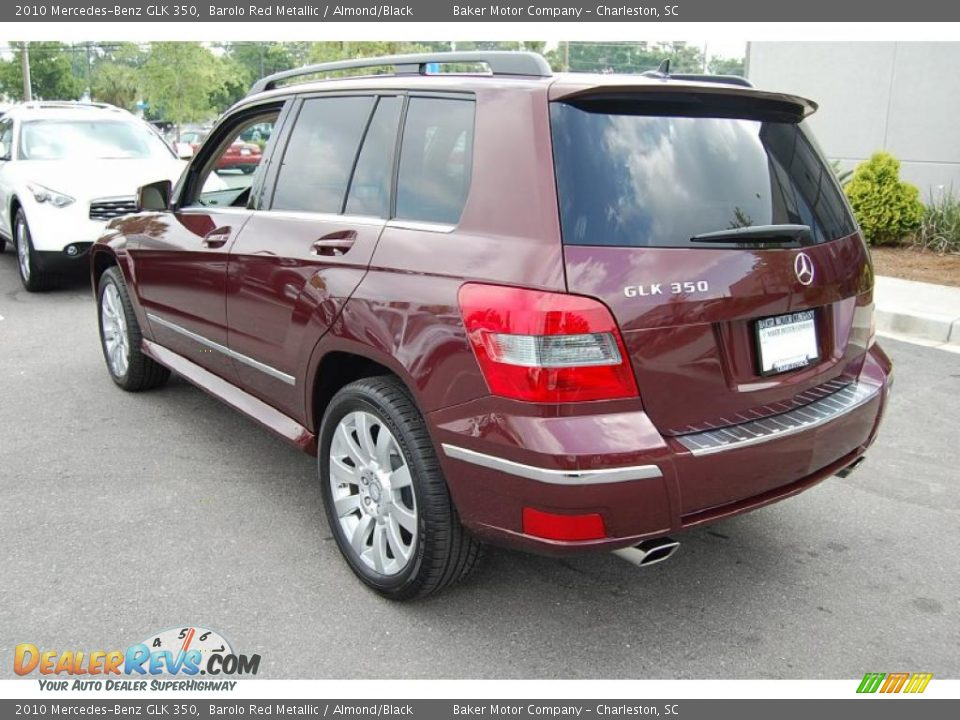 2010 Mercedes Benz Glk 350 Barolo Red Metallic Almond