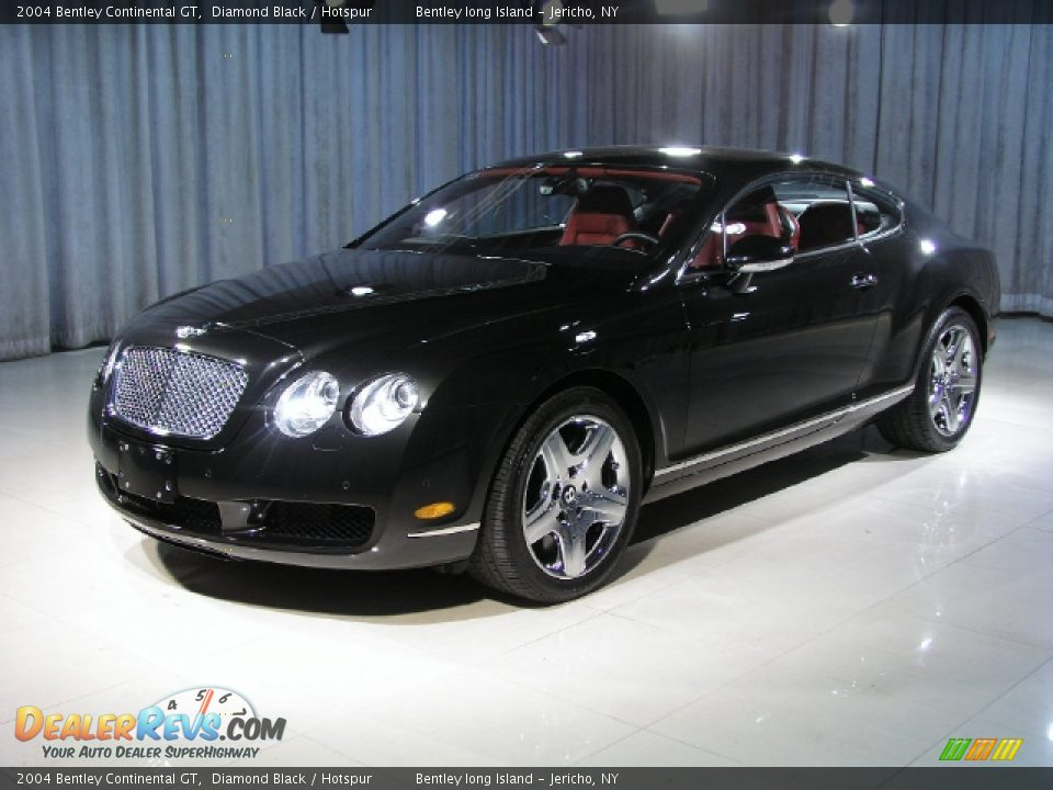 2004 bentley continental gt diamond black hotspur photo 1. Cars Review. Best American Auto & Cars Review