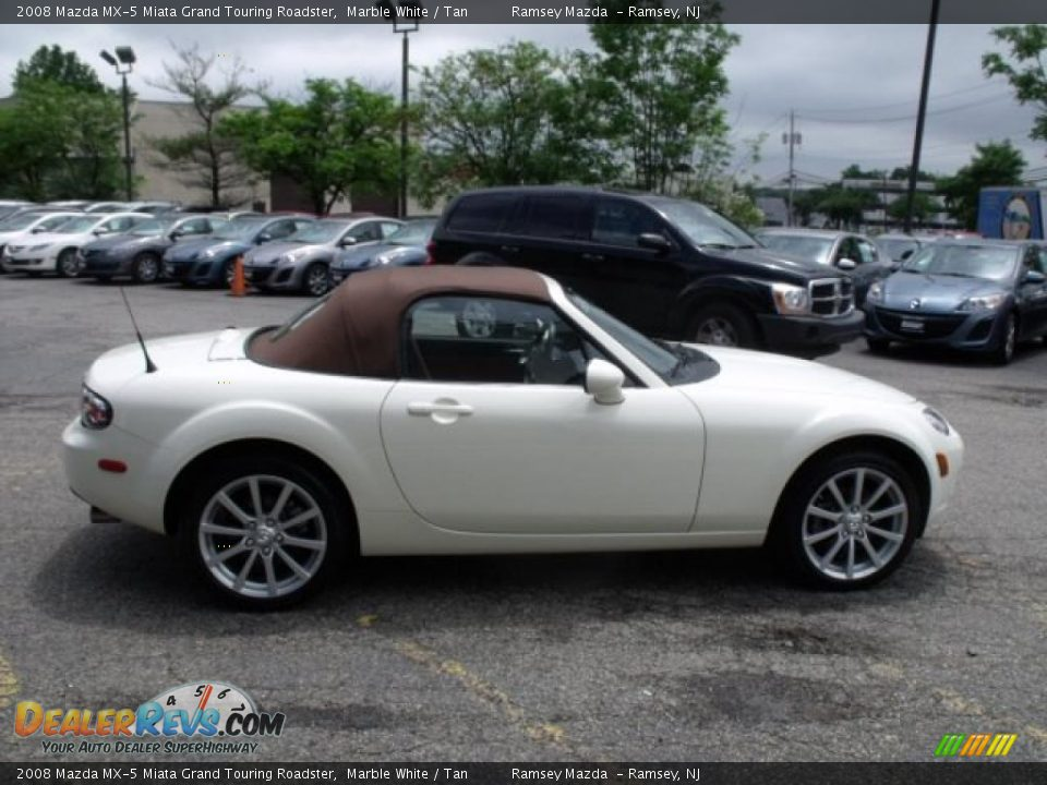 2008 Mazda Mx 5 Miata Grand Touring Roadster Marble White