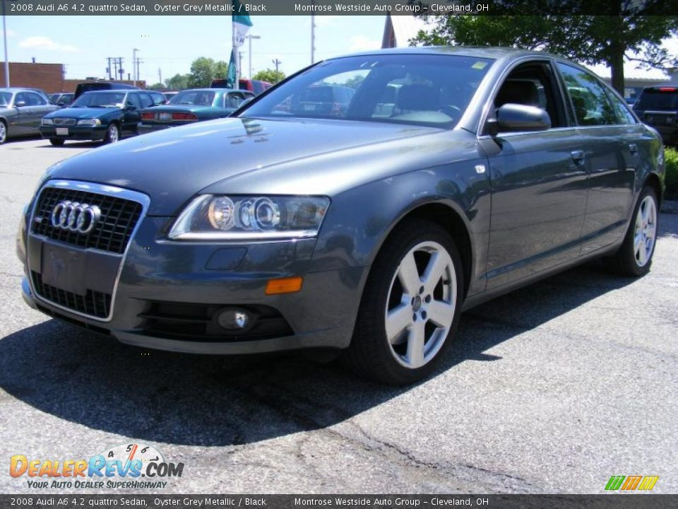 2008 Audi A6 4 2 Quattro Sedan Oyster Grey Metallic