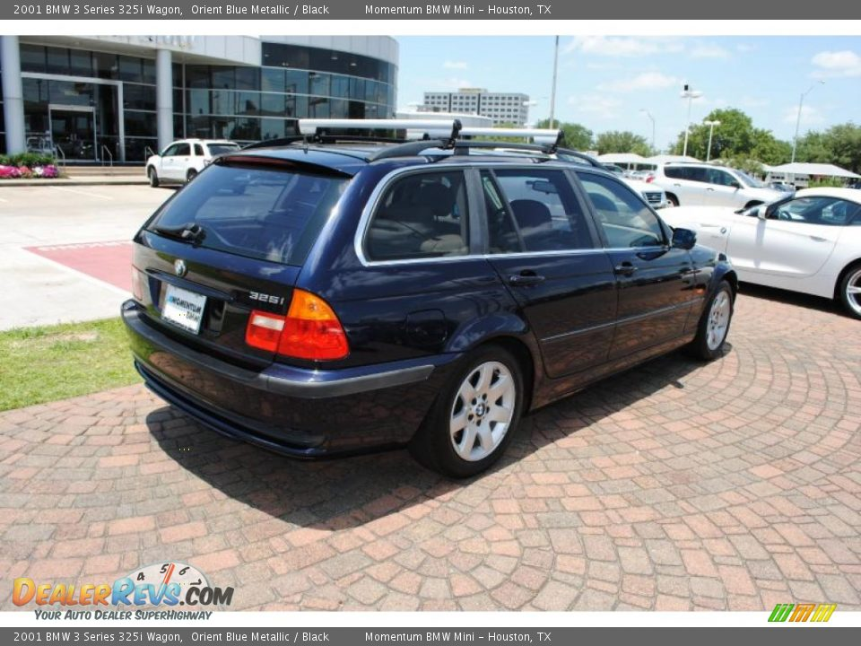 2001 Bmw 3 Series 325i Wagon Orient Blue Metallic Black