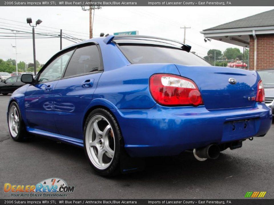 Subaru Impreza WRX STi 2006 Blue DK  2006 Subaru Impreza Wrx Blue