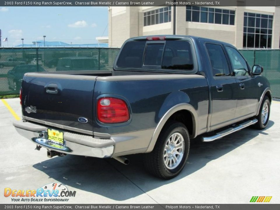 2003 Ford F150 King Ranch Supercrew Charcoal Blue Metallic