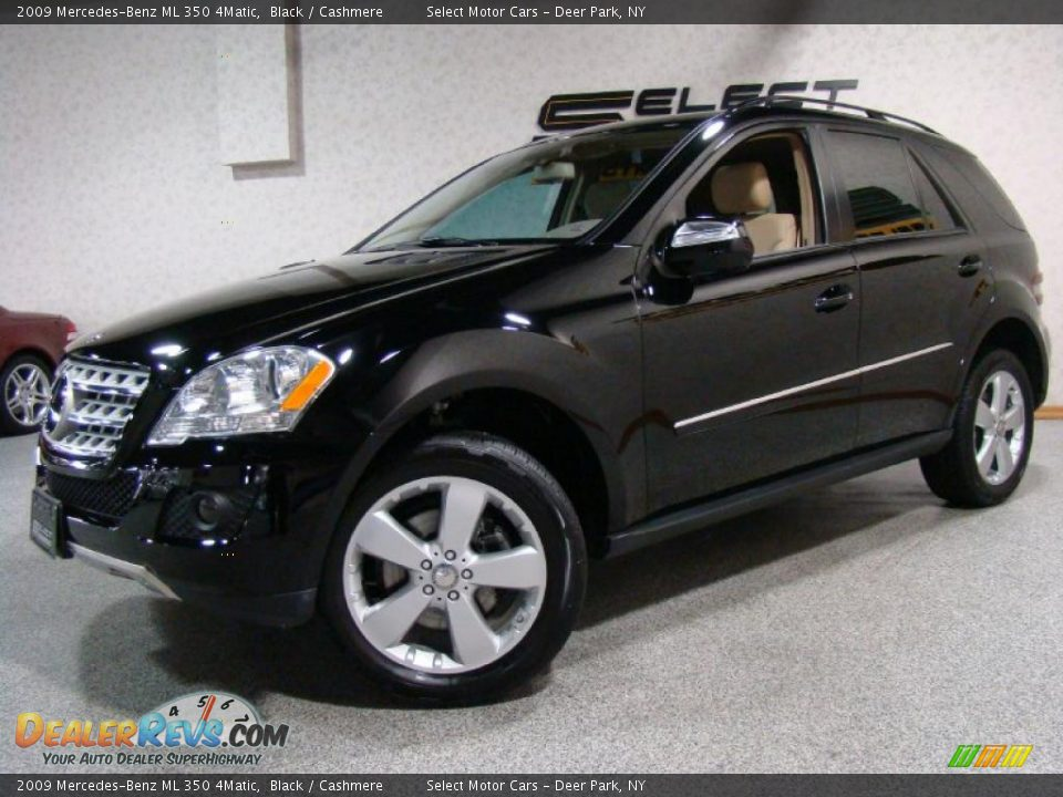 2009 mercedes benz ml 350 4matic black cashmere photo 1