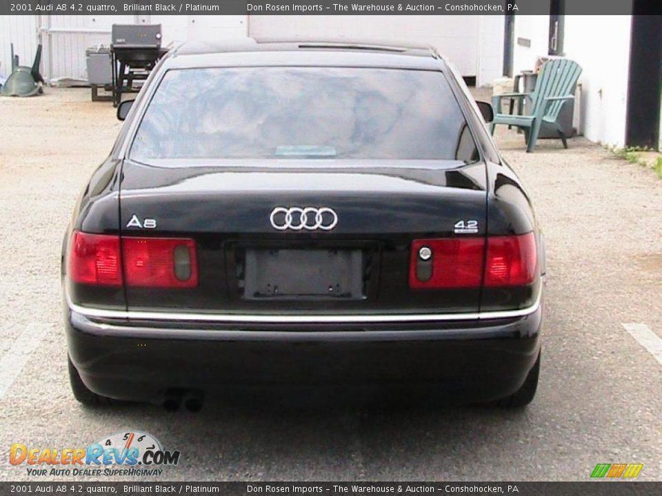 2001 Audi A8 4 2 Quattro Brilliant Black Platinum Photo