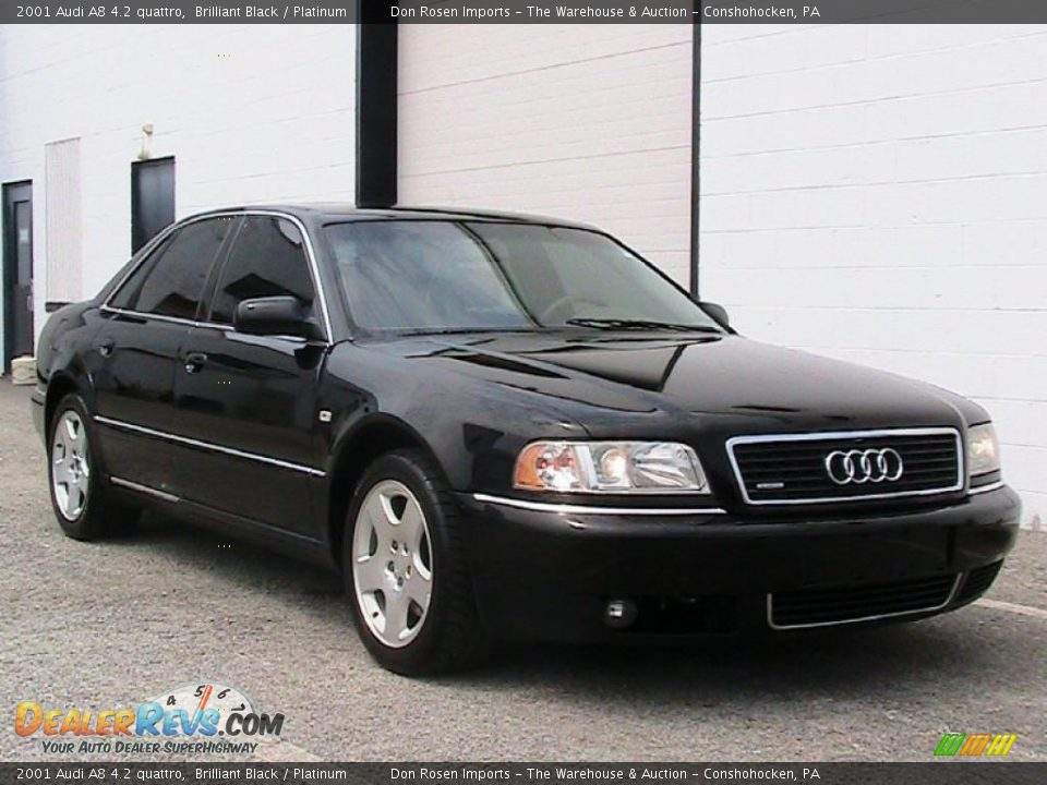 2001 Audi A8 4 2 Quattro Brilliant Black Platinum Photo