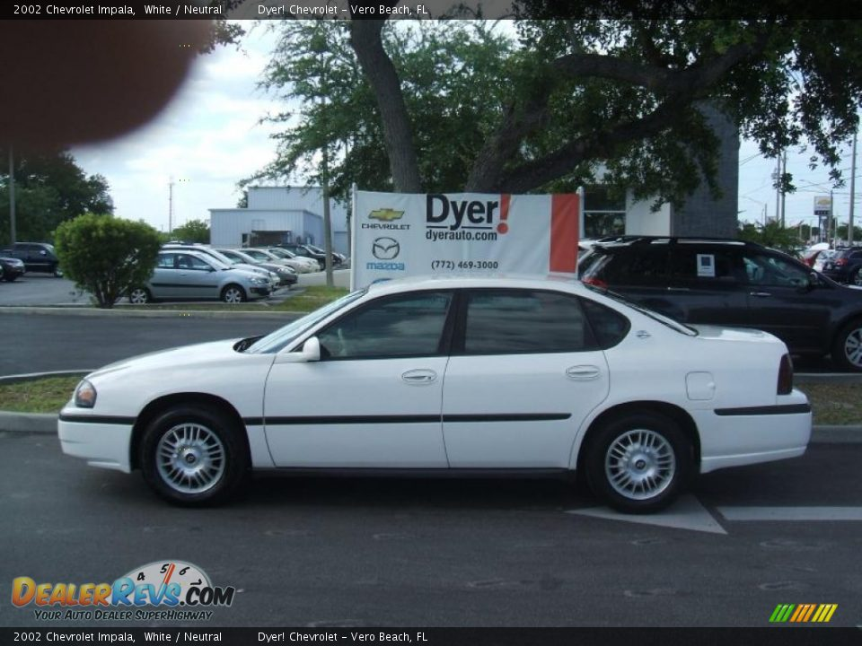 2002 chevrolet impala white neutral photo 3. Cars Review. Best American Auto & Cars Review