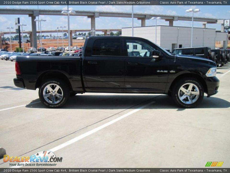 2010 Dodge Ram 1500 Sport Crew Cab 4x4 Brilliant Black