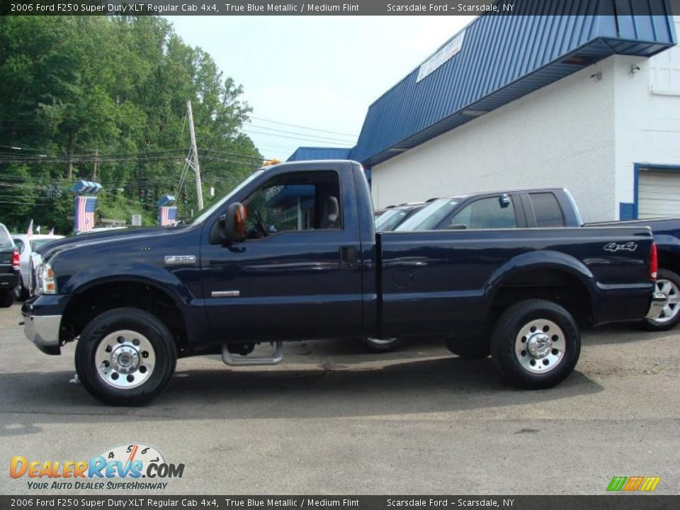 2006 ford f250 super duty xlt regular cab 4x4 true blue. Black Bedroom Furniture Sets. Home Design Ideas
