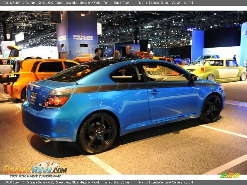 2010 scion tc release series 6 0 speedway blue metallic. Black Bedroom Furniture Sets. Home Design Ideas