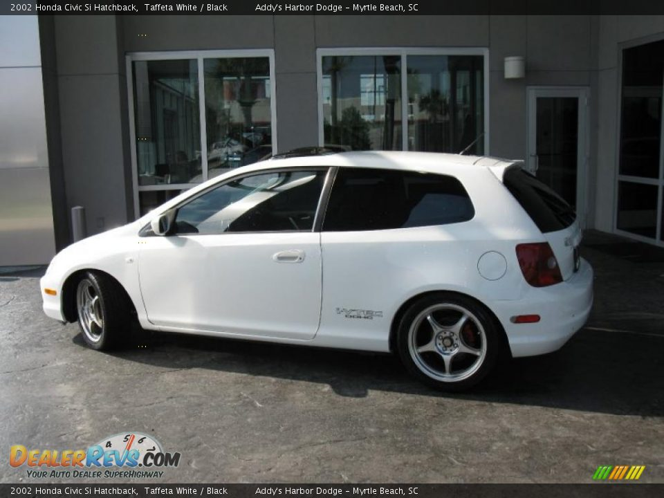 Used Honda Civic Si >> 2002 Honda Civic Si Hatchback Taffeta White / Black Photo ...