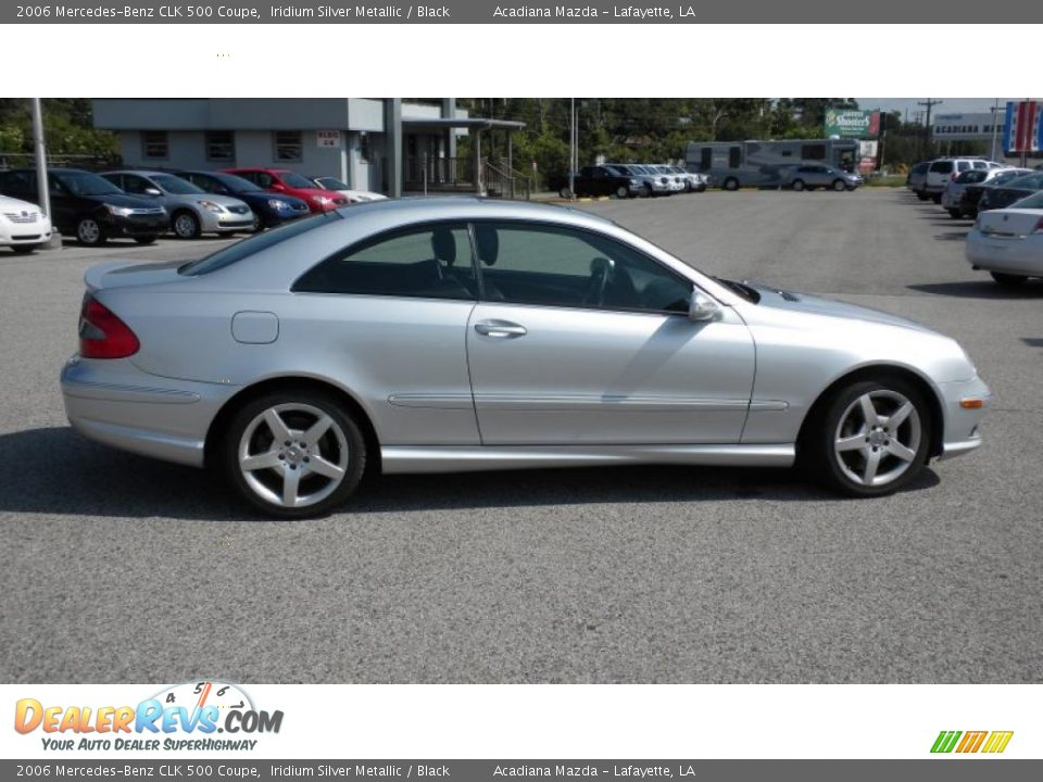 2006 mercedes benz clk 500 coupe iridium silver metallic for 2006 mercedes benz clk 500