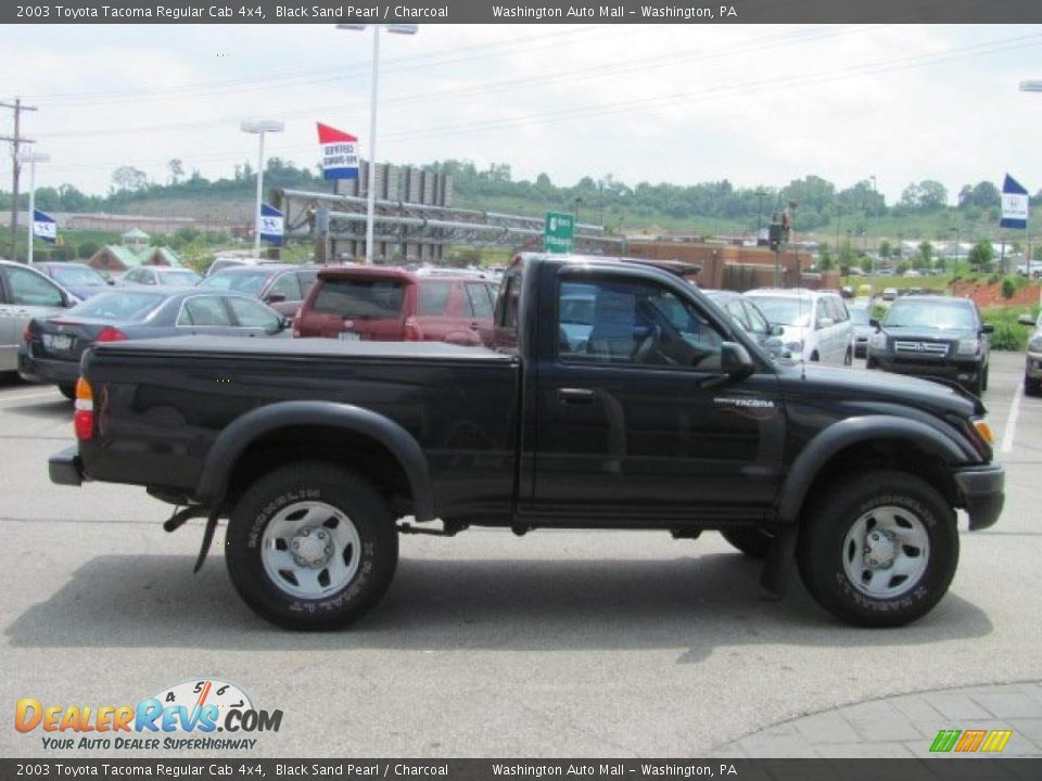 2003 toyota tacoma regular cab 4x4 black sand pearl charcoal photo 8. Black Bedroom Furniture Sets. Home Design Ideas