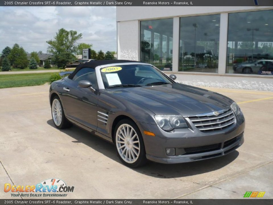 Front 3/4 View of 2005 Chrysler Crossfire SRT-6 Roadster Photo #6 ...