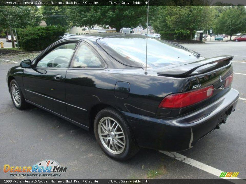 1999 Acura Integra LS Coupe Flamenco Black Pearl / Graphite Photo #4 | DealerRevs.com