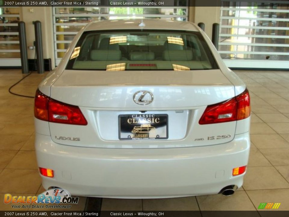 2007 lexus is 250 awd glacier frost mica sterling photo 4. Black Bedroom Furniture Sets. Home Design Ideas