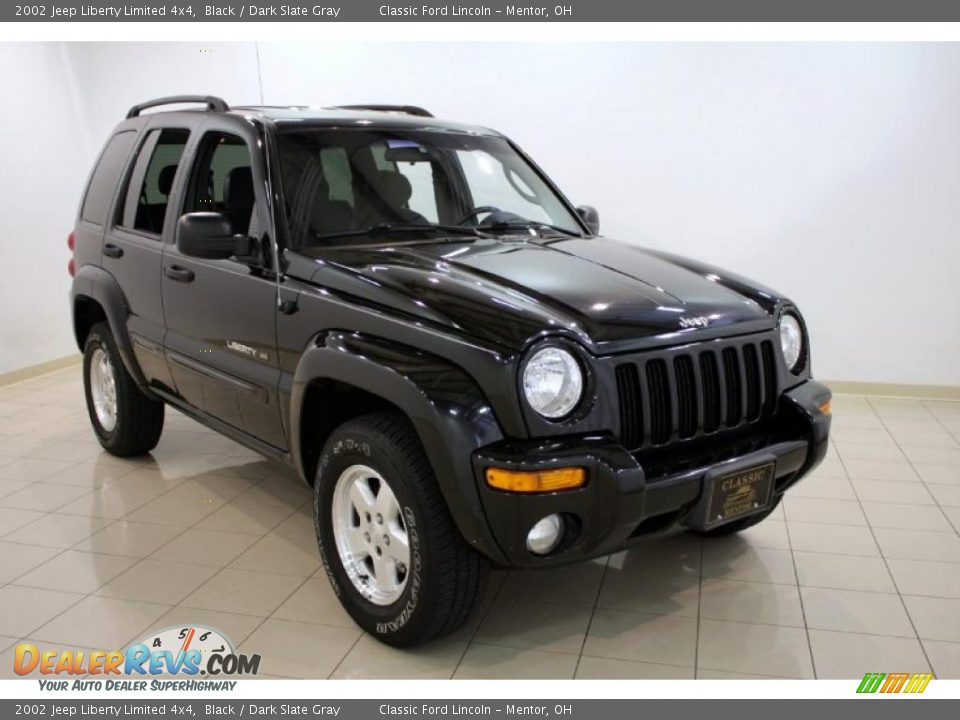 2002 Jeep Liberty Limited 4x4 Black Dark Slate Gray