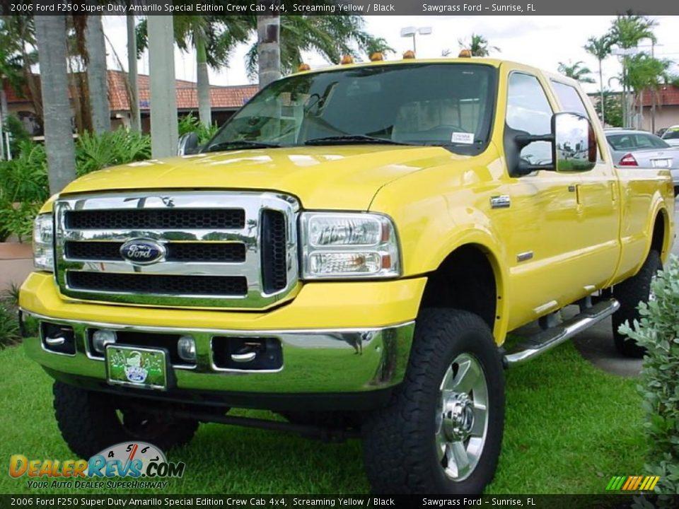 2006 Ford F250 Super Duty Amarillo Special Edition Crew Cab 4x4 ...