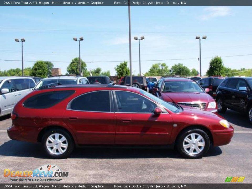 2004 Ford Taurus Sel Wagon Merlot Metallic Medium
