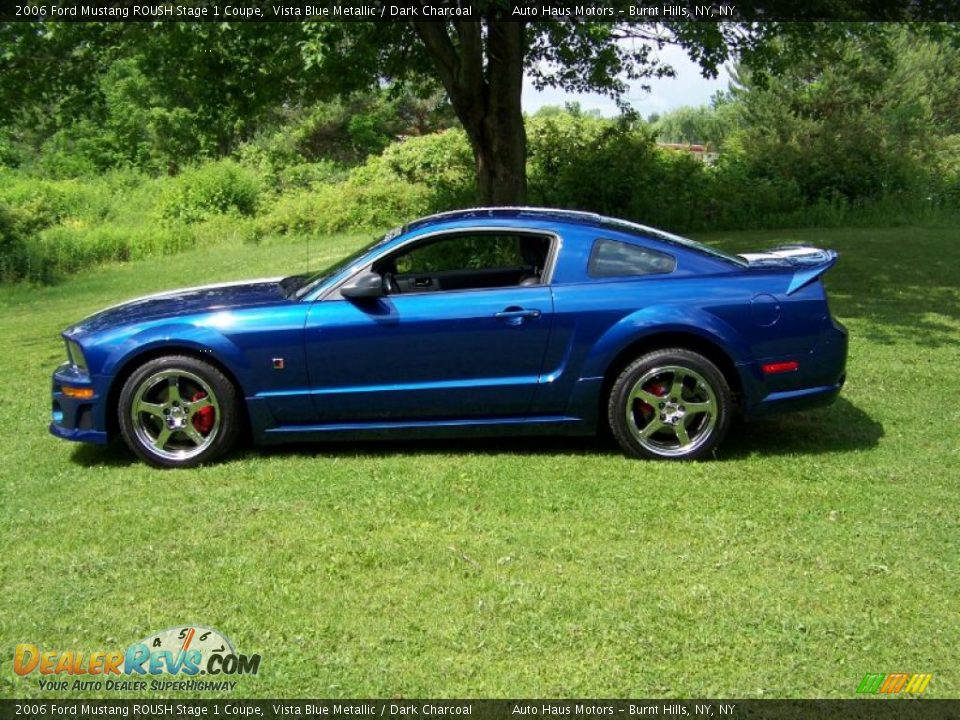 2006 ford mustang roush stage 1 coupe vista blue metallic dark charcoal photo 8. Black Bedroom Furniture Sets. Home Design Ideas
