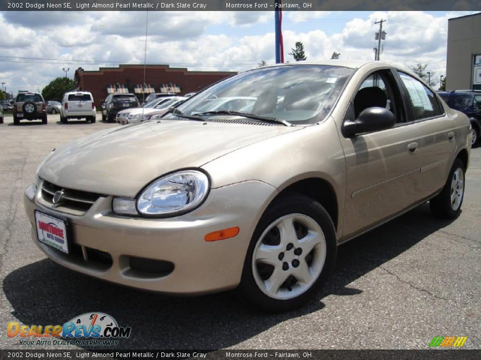 2002 dodge neon se light almond pearl metallic dark. Black Bedroom Furniture Sets. Home Design Ideas