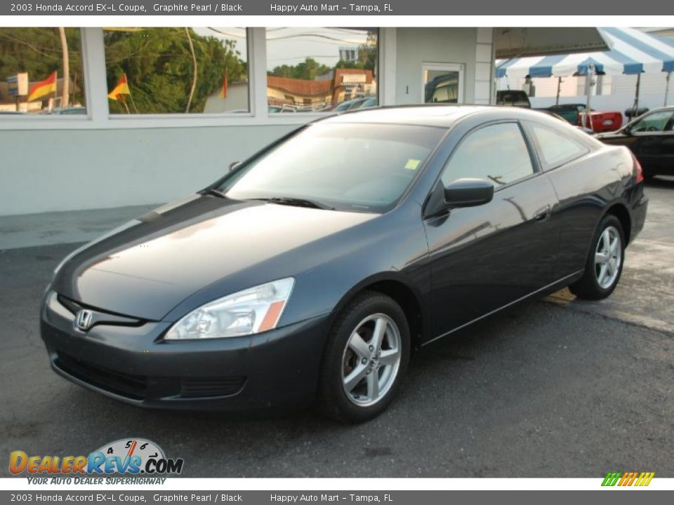 2003 honda accord ex l coupe graphite pearl black photo 1. Black Bedroom Furniture Sets. Home Design Ideas