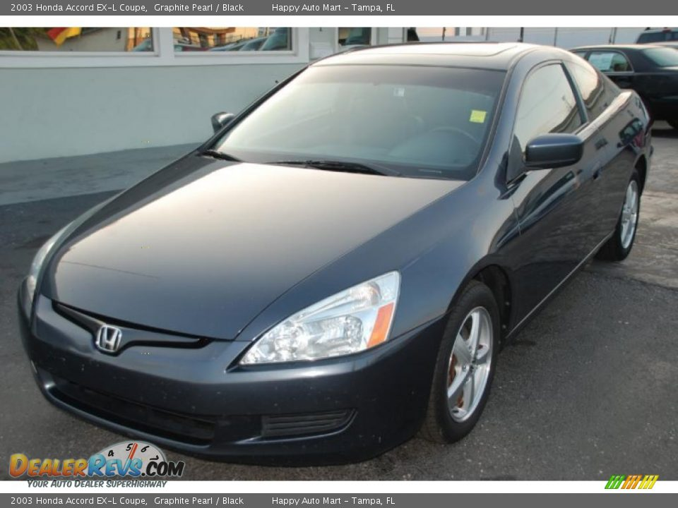 2003 honda accord ex l coupe graphite pearl black photo 3. Black Bedroom Furniture Sets. Home Design Ideas