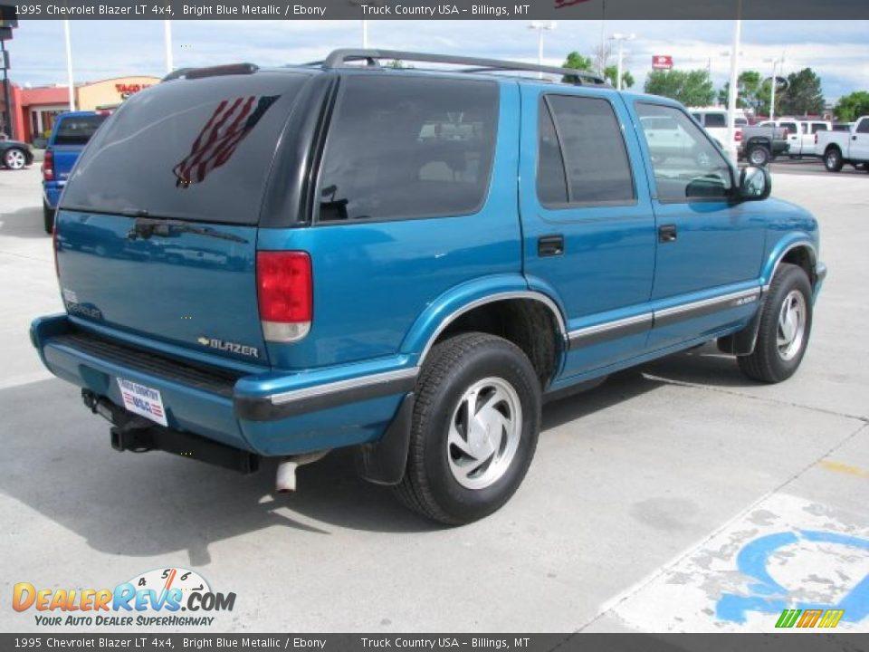 1995 Chevrolet Blazer Lt 4x4 Bright Blue Metallic Ebony
