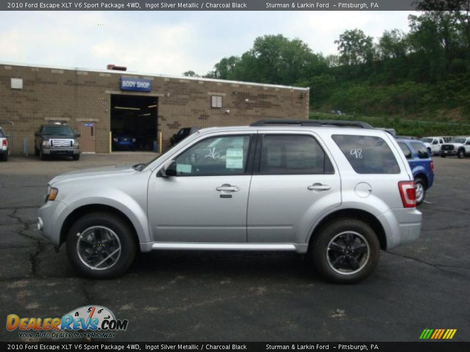 2010 ford escape xlt v6 sport package 4wd ingot silver. Black Bedroom Furniture Sets. Home Design Ideas
