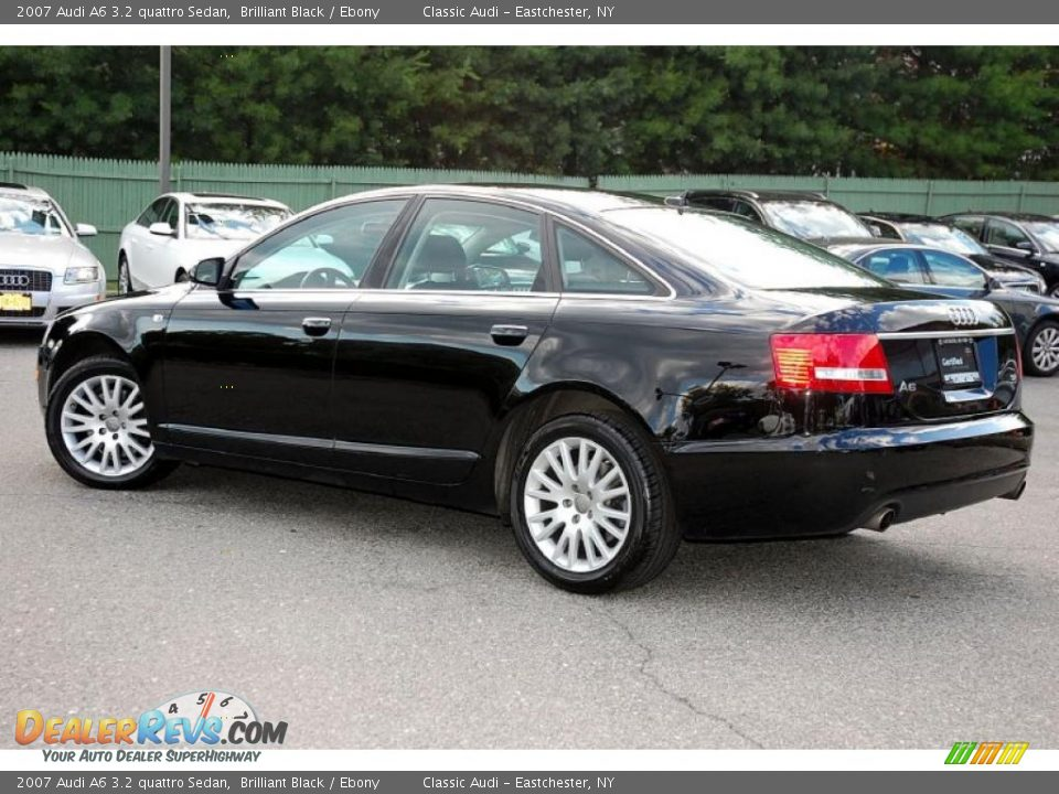 2007 audi a6 3 2 quattro sedan brilliant black ebony photo 14. Black Bedroom Furniture Sets. Home Design Ideas
