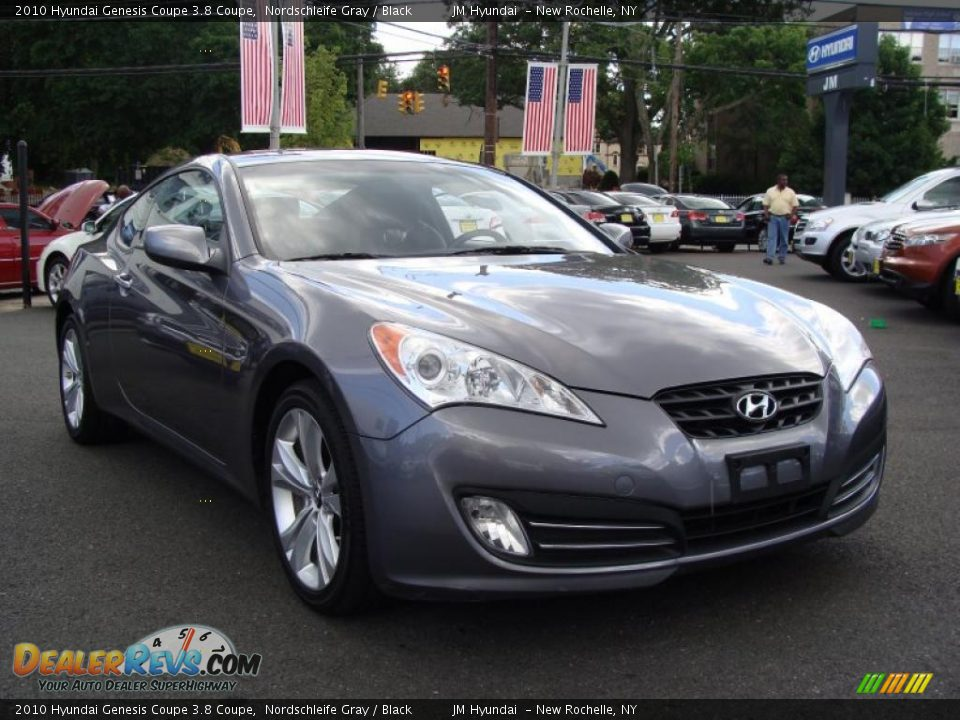 2010 hyundai genesis coupe 3 8 coupe nordschleife gray black photo 1. Black Bedroom Furniture Sets. Home Design Ideas
