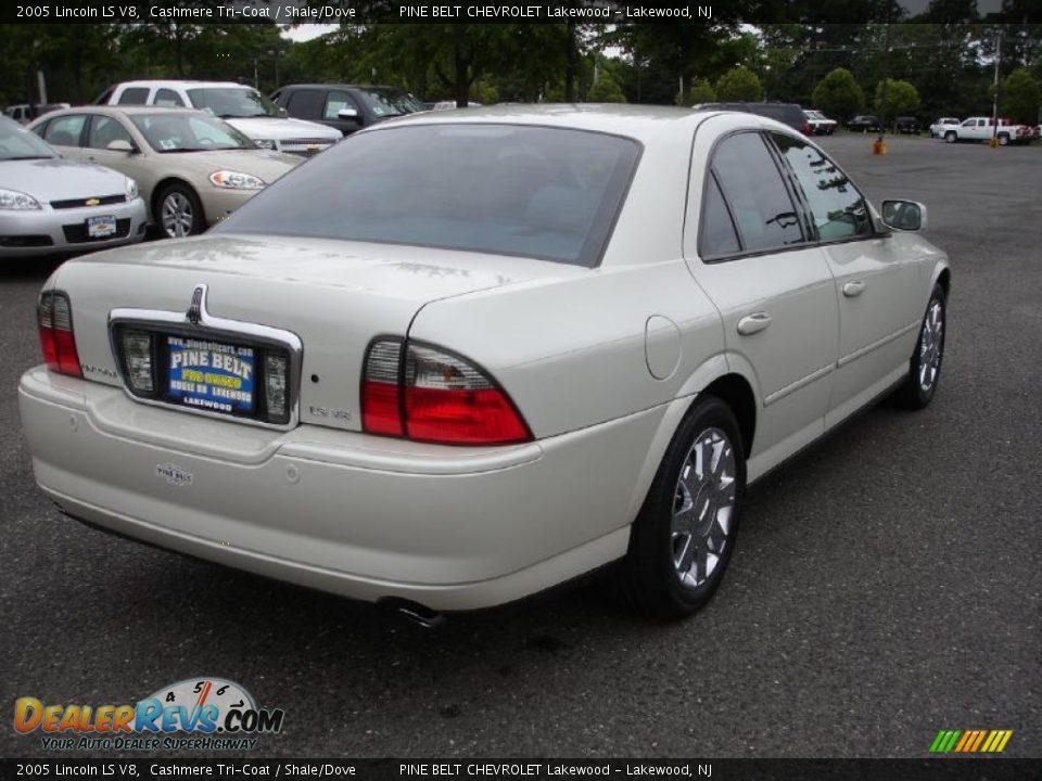 2005 Lincoln Ls V8 Cashmere Tri Coat Shale Dove Photo 4