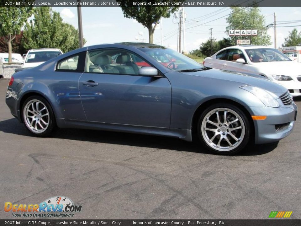2007 infiniti g 35 coupe lakeshore slate metallic stone for G stone motors used cars