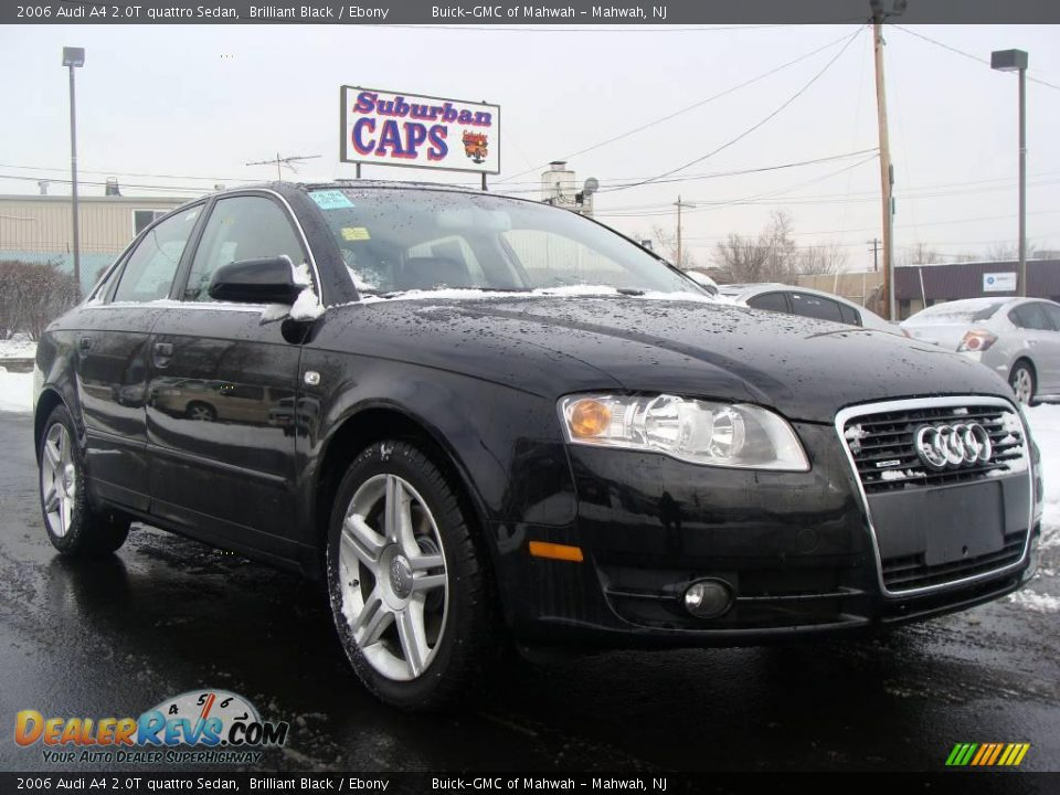 2006 audi a4 2 0t quattro sedan brilliant black ebony photo 3. Black Bedroom Furniture Sets. Home Design Ideas