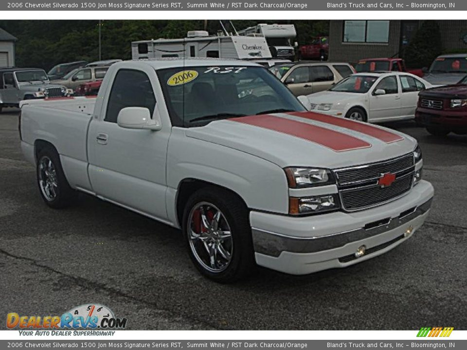 2006 chevrolet silverado 1500 jon moss signature series rst summit white rst dark charcoal. Black Bedroom Furniture Sets. Home Design Ideas