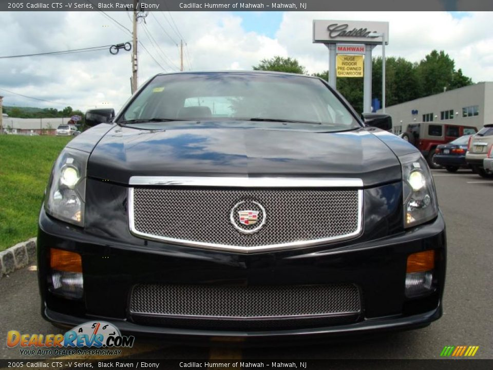 2005 cadillac cts v series black raven ebony photo 6 dealerrevs com