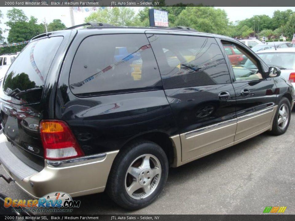 2000 Ford Windstar SEL Black / Medium Parchment Photo #3 ...