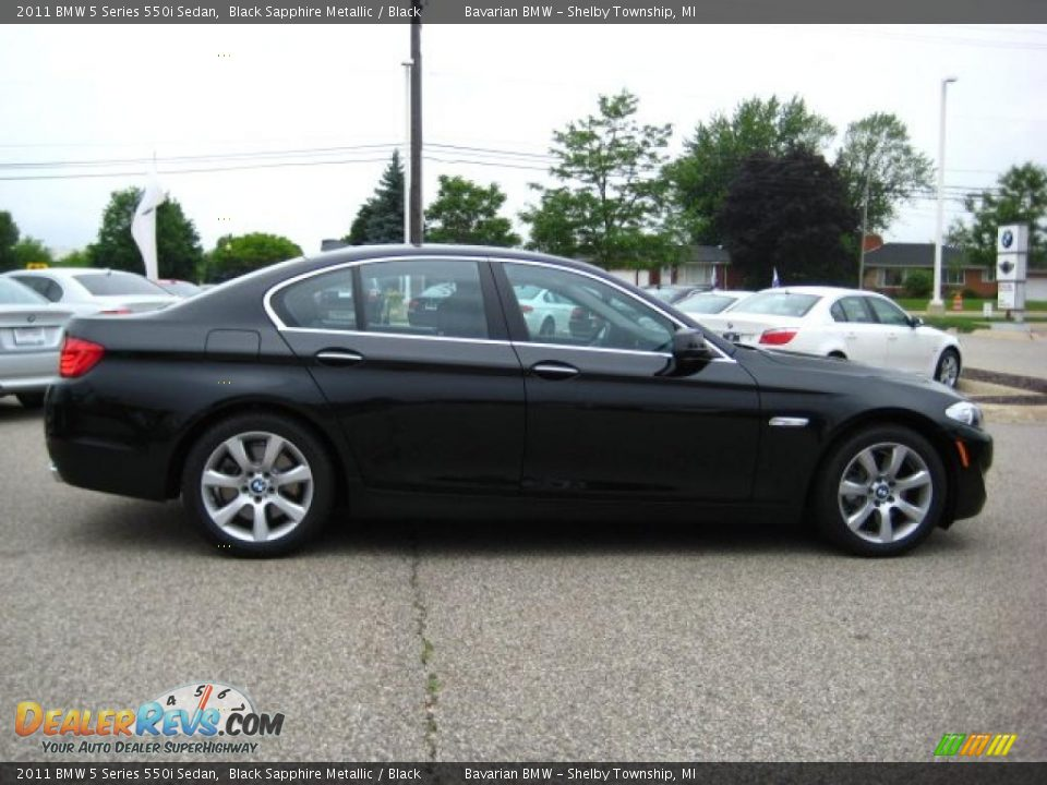 2017 Bmw 6 Series >> 2011 BMW 5 Series 550i Sedan Black Sapphire Metallic ...