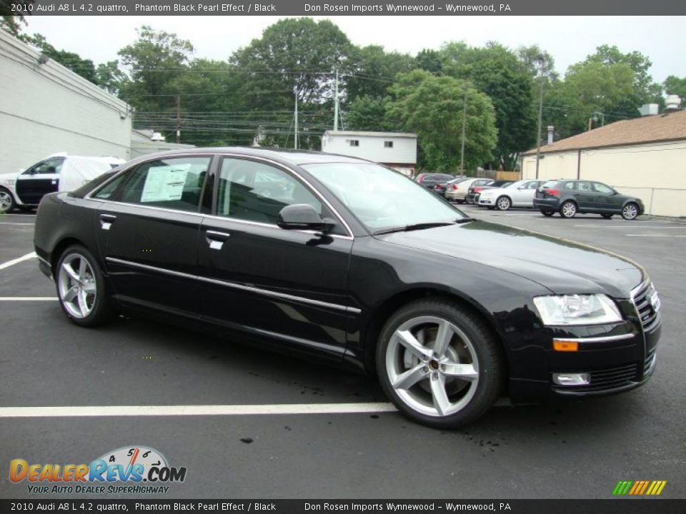 2010 Audi A8 L 4 2 Quattro Phantom Black Pearl Effect