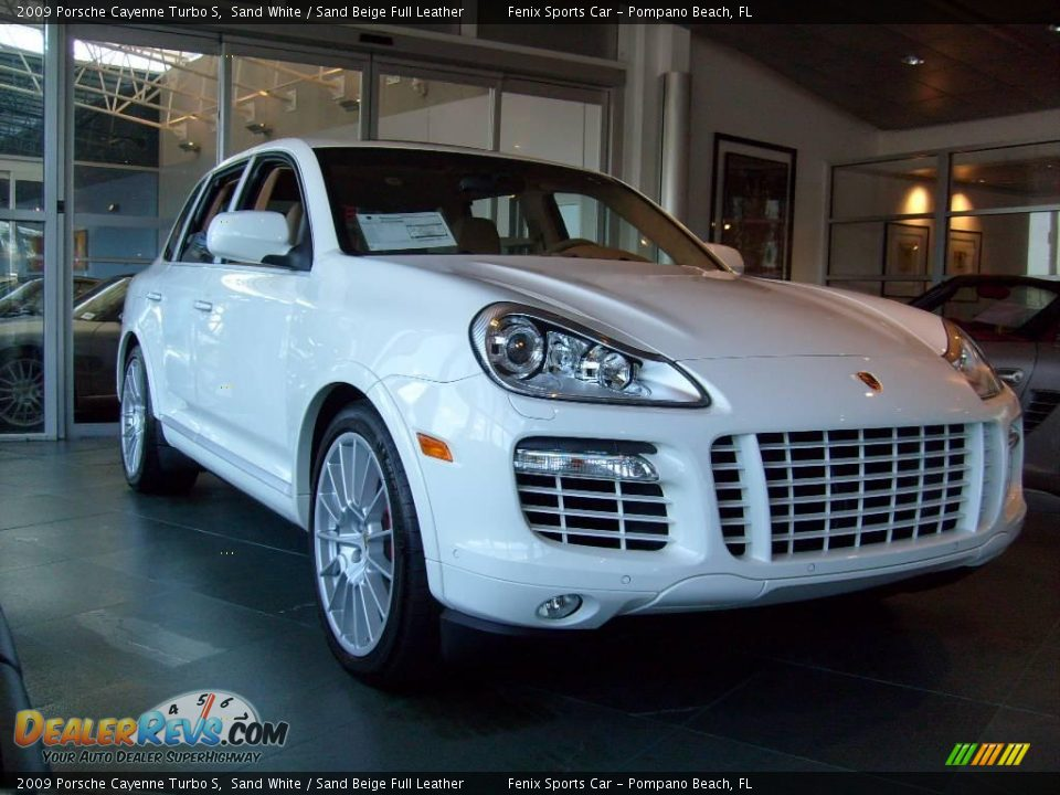 2009 porsche cayenne turbo s sand white sand beige full leather photo 2. Black Bedroom Furniture Sets. Home Design Ideas